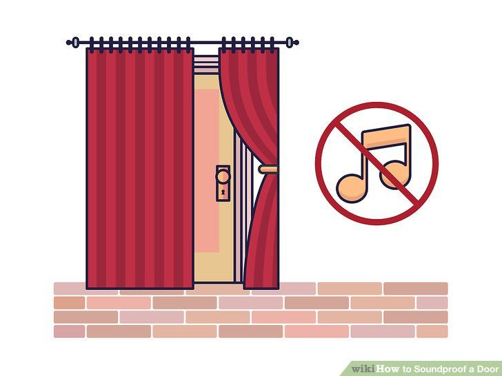 Soundproof A Door Sound Proofing Diy Insulation Sound Insulation