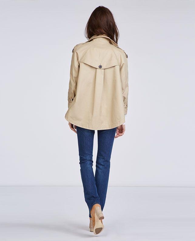 Trench Court Blousons Et Manteaux Comptoir Des Cotonniers Coats Jackets Women Fashion Coats For Women