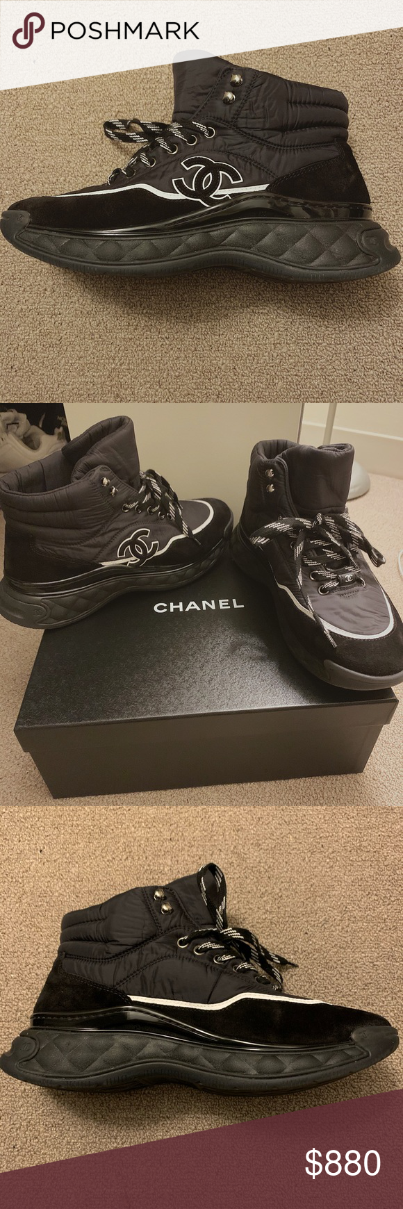Chanel Sneakers! Brand new (Price