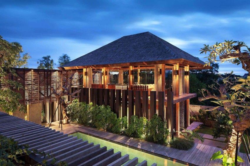 exotisches Wohnzimmer design   braun und blau