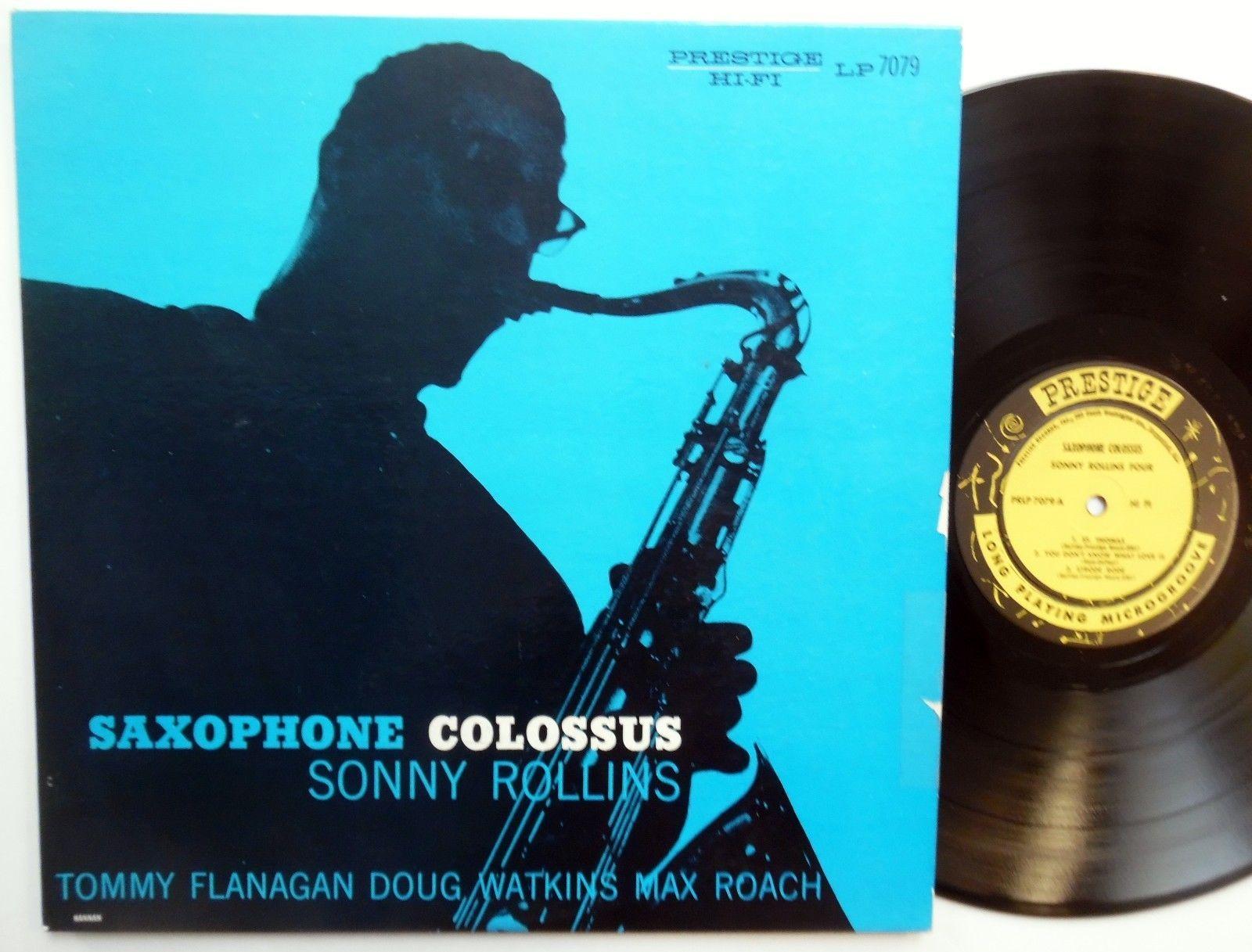 archived! $ 342 | Sonny Rollins Lp Saxophone Colossus Near Mint Bop Mono Jazz Rvg Orig #vinyl https://t.co/GR9pJWOnjt