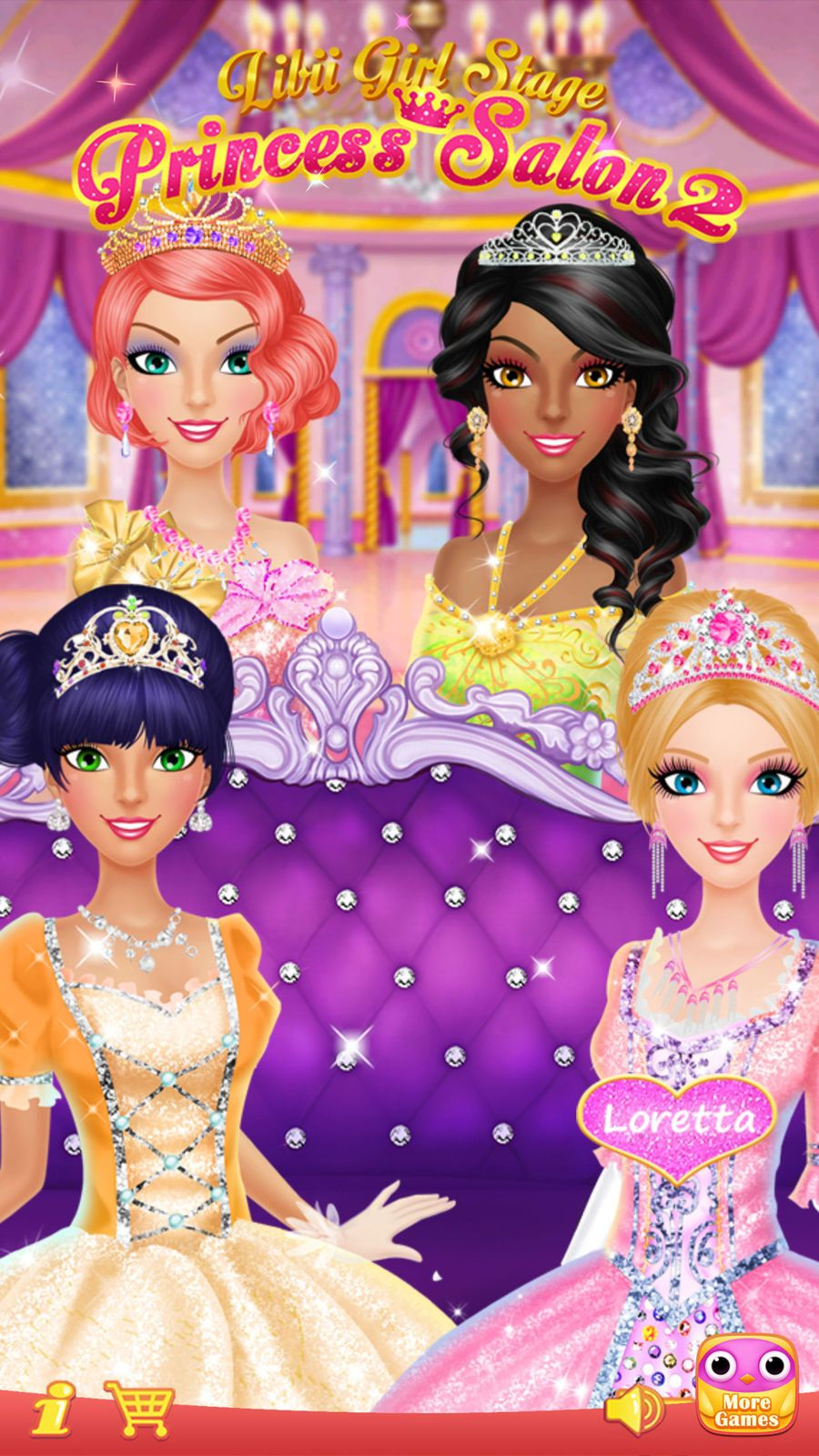 Princess Salon 2 Makeup Dressup Spa And Makeover Girls Beauty Salon Games Libii Games Beauty Family Beauty Salon Games Beauty Girl Princess