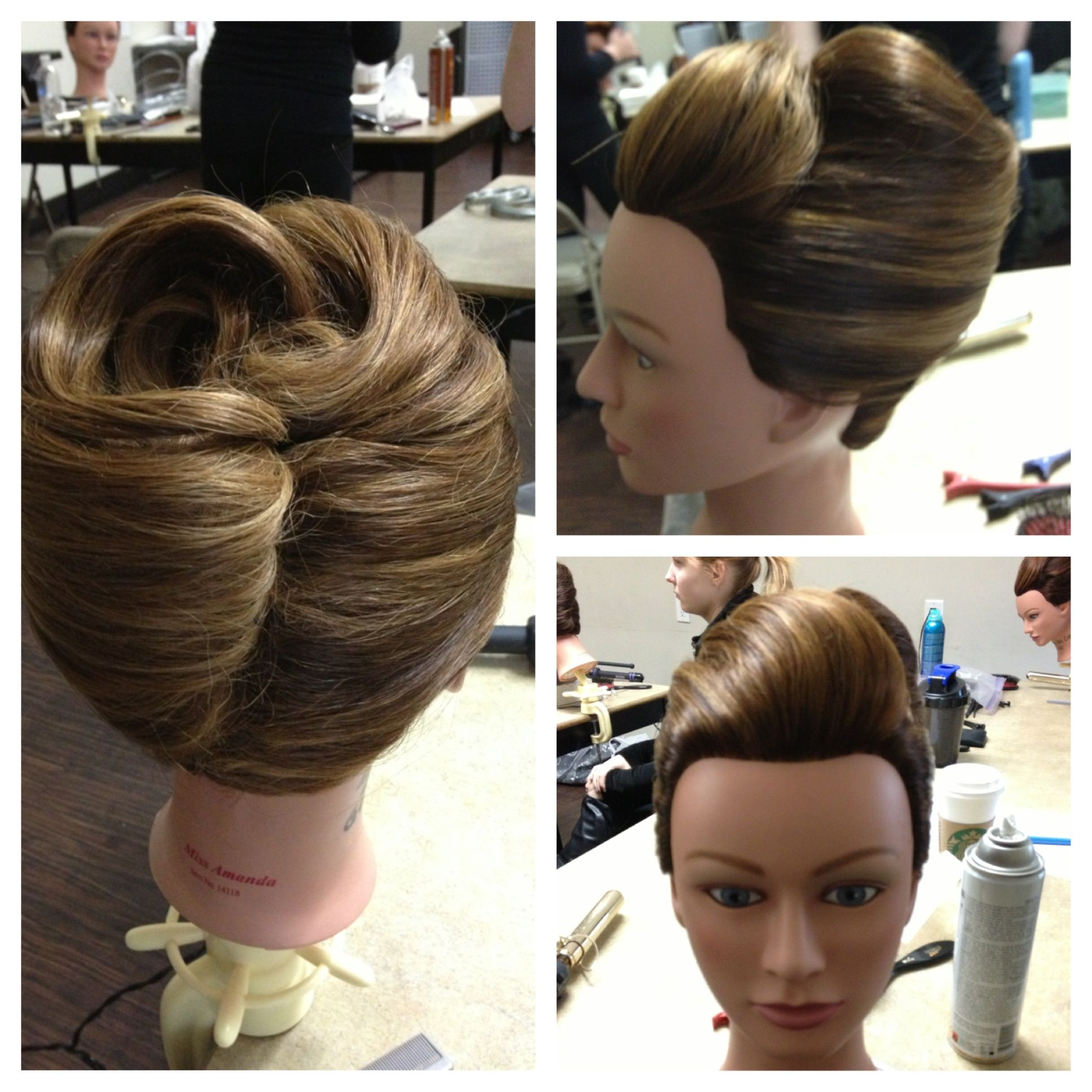 Hairstyle Girl French Roll: Classic French Roll Updo #frenchroll #updo In 2019