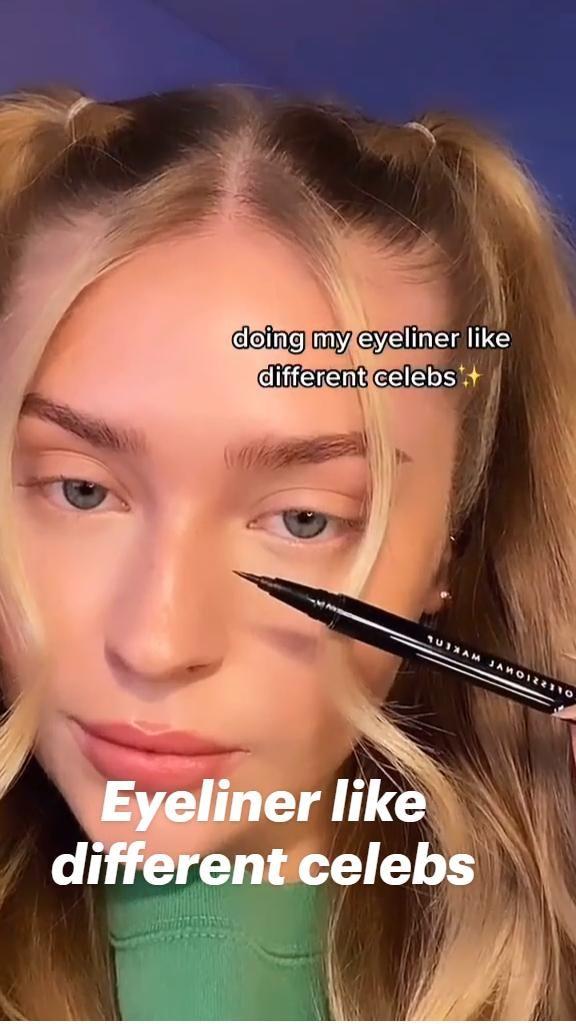 Eyeliner like different celebs | Eyeliner tutorials | Kendall Jenner style