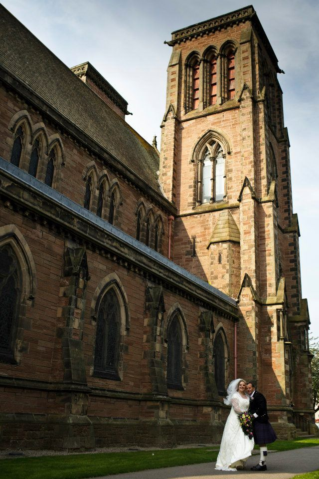 Highland Cathedral Wedding  Image Lynne Kennedy Photography