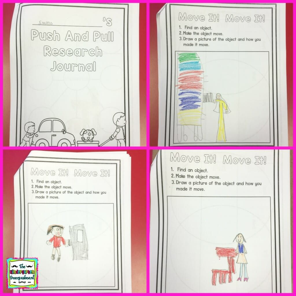 Push And Pull Research Project Pushes And Pulls Research Projects Kindergarten Science Lessons [ 1024 x 1024 Pixel ]