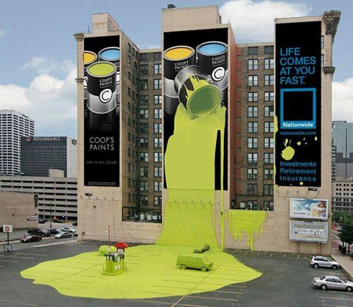 coop´s paints publicidad exterior creativa