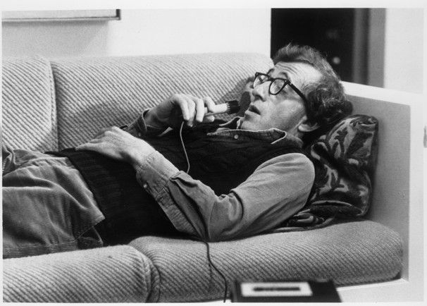 """""""Why is life worth living?"""" Isaac Davis (Woody Allen) asks into a tape recorder in Allen's 1979 film Manhattan"""