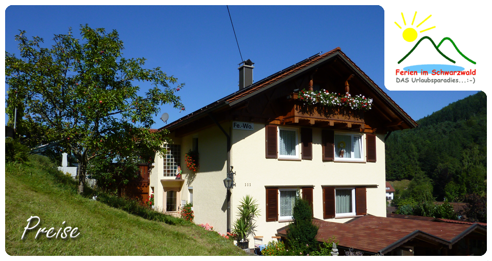 Harter Ferienwohnung Wolfach-Kirnbach te noordelijk.