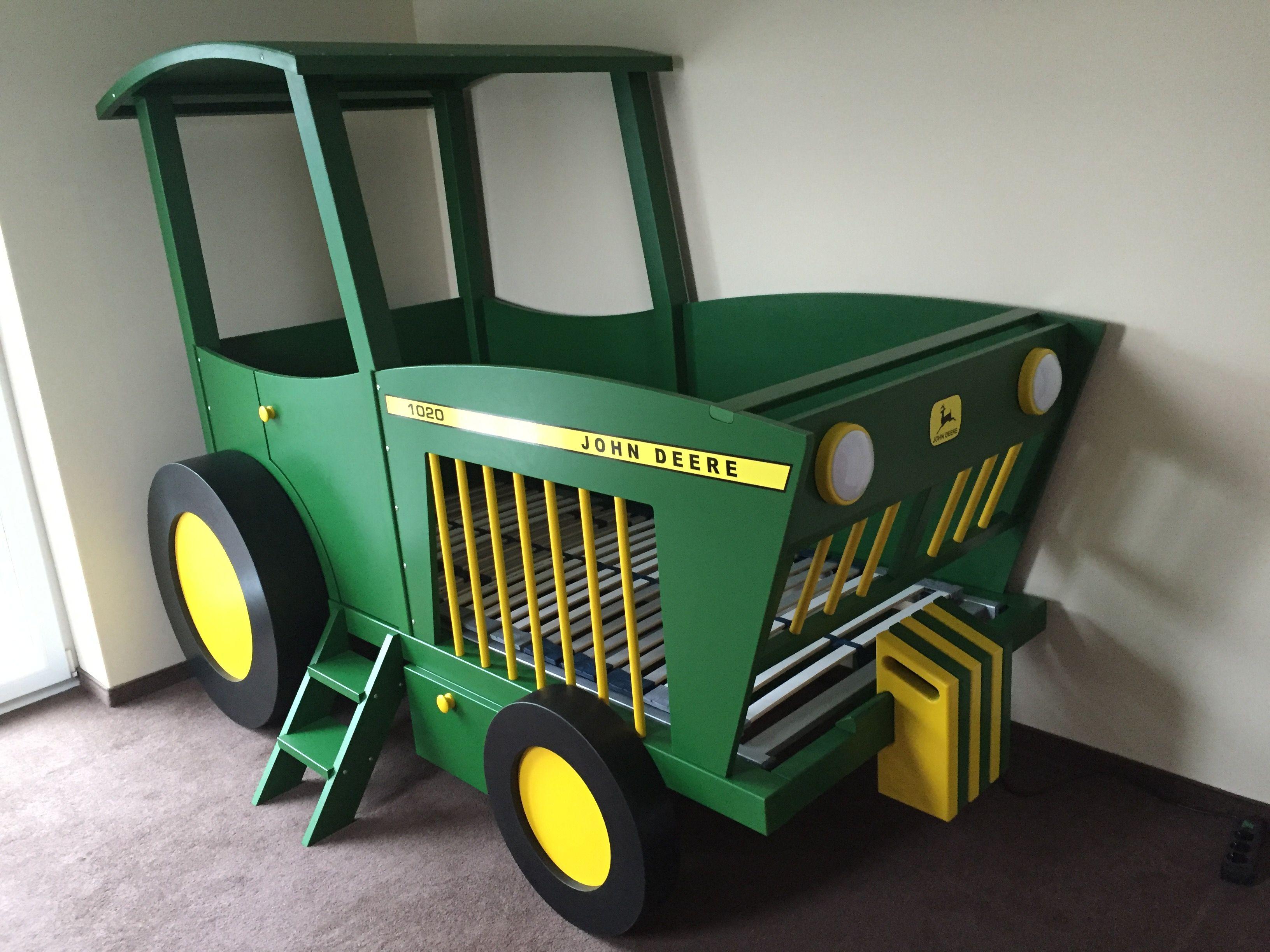 echt cooles traktorbett! | treckerbett, traktorbett, kinderbett