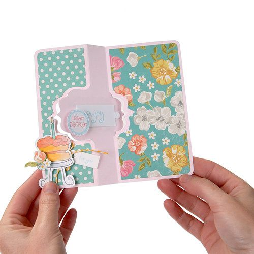 Sizzix - Flip Its and Stand Ups Collection - Framelits - Card, Fancy Frame…