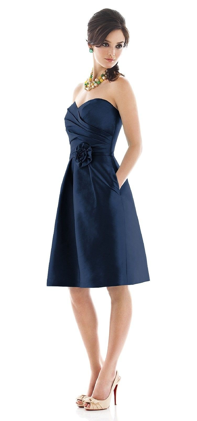 Bridesmaids dress but in a different color wedding i am not