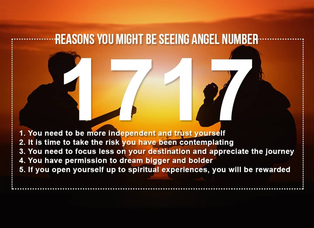 Angel Number 1717 Meanings – Why Are You Seeing 1717?