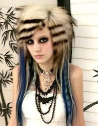 Skunk Hairstyle Teenage Girl Haircuts Teenage Girl Hairstyles Girl Haircuts