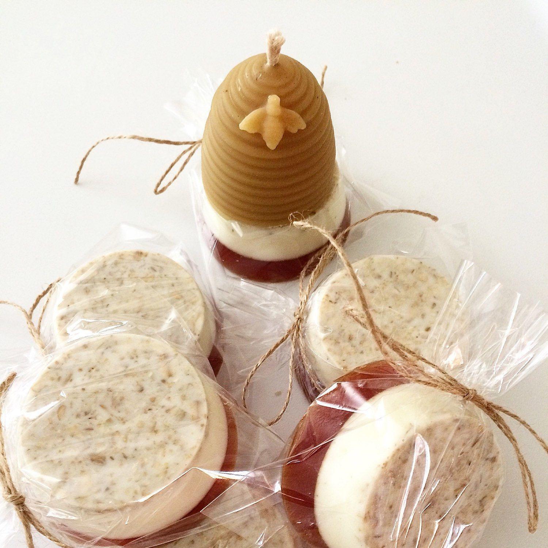 Belovelysoap shared a new photo on etsy honey oatmeal
