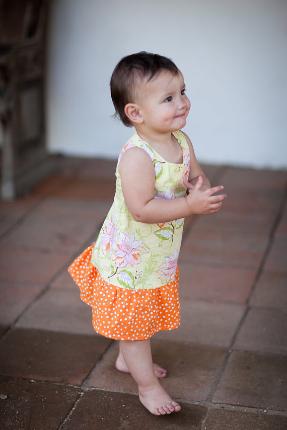7a650c793 INSTANT DOWNLOAD- Sabrina Dress (Size 3 6 months to 6) PDF Sewing ...
