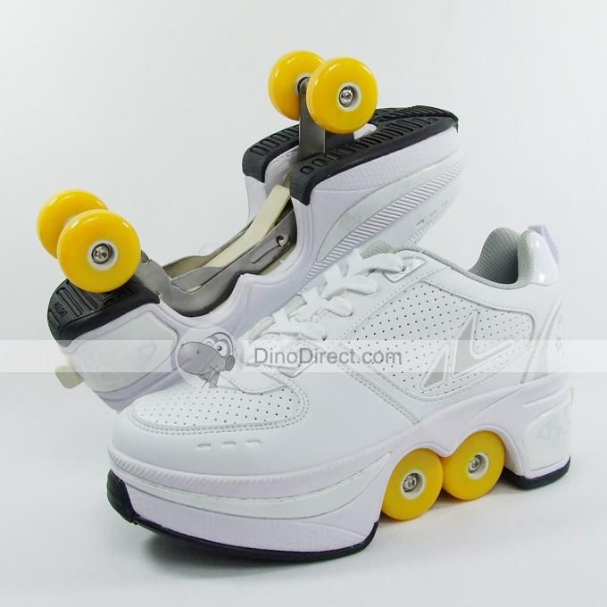 Shop street flyer skate retractable wheel roller shoes free shipping online  at DinoDirect store. eeee5b40709
