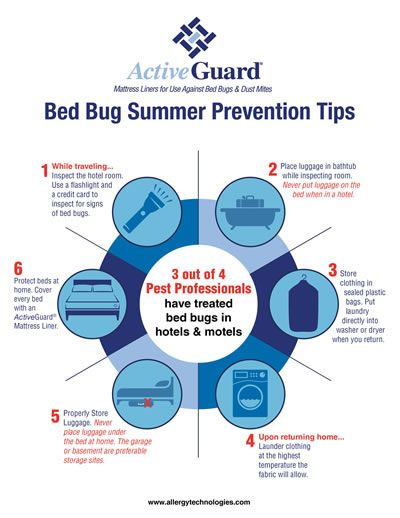 Summer Bed Bug Prevention Tips