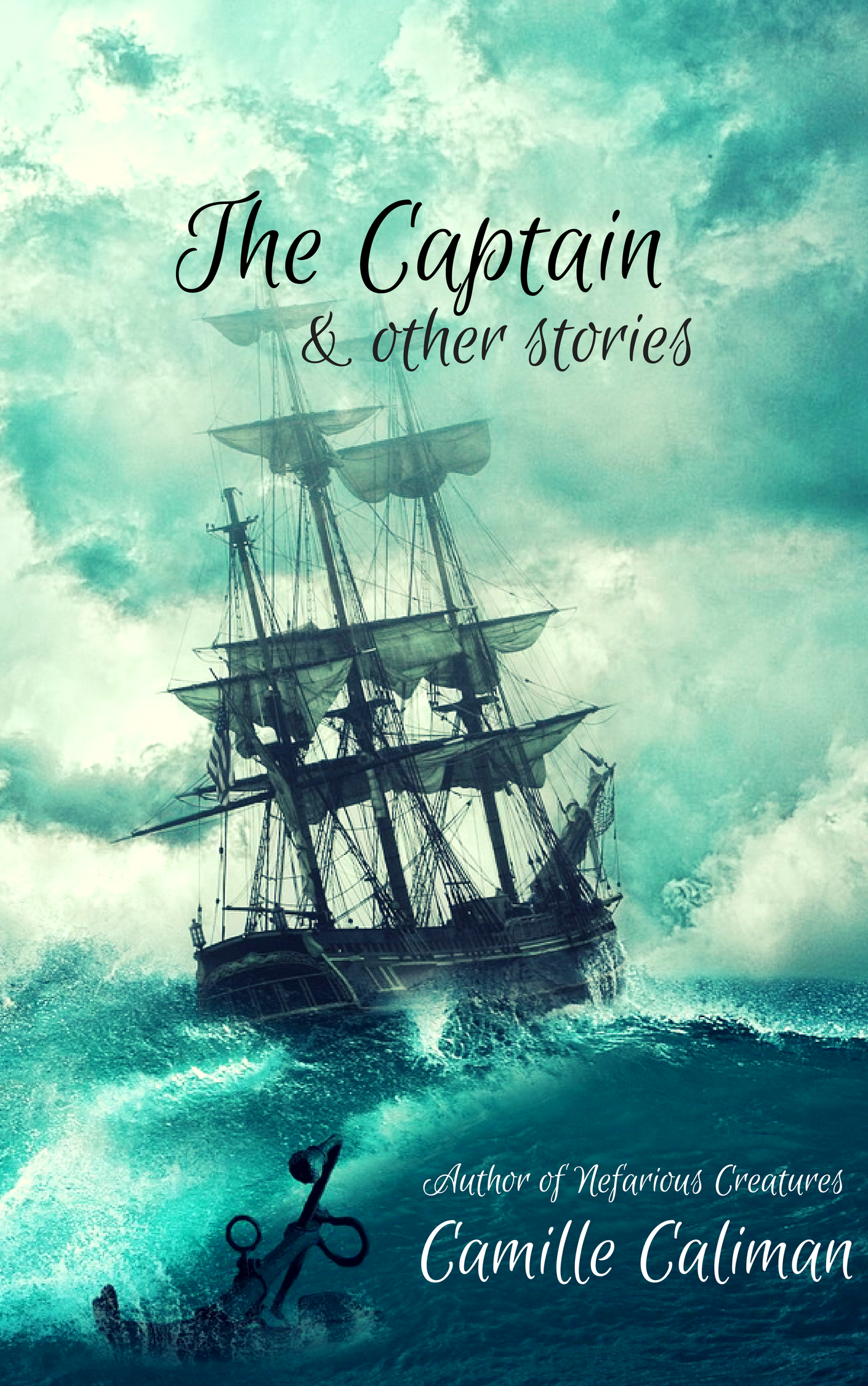 New cover for the The Captain #pirates #magic #yabooks #
