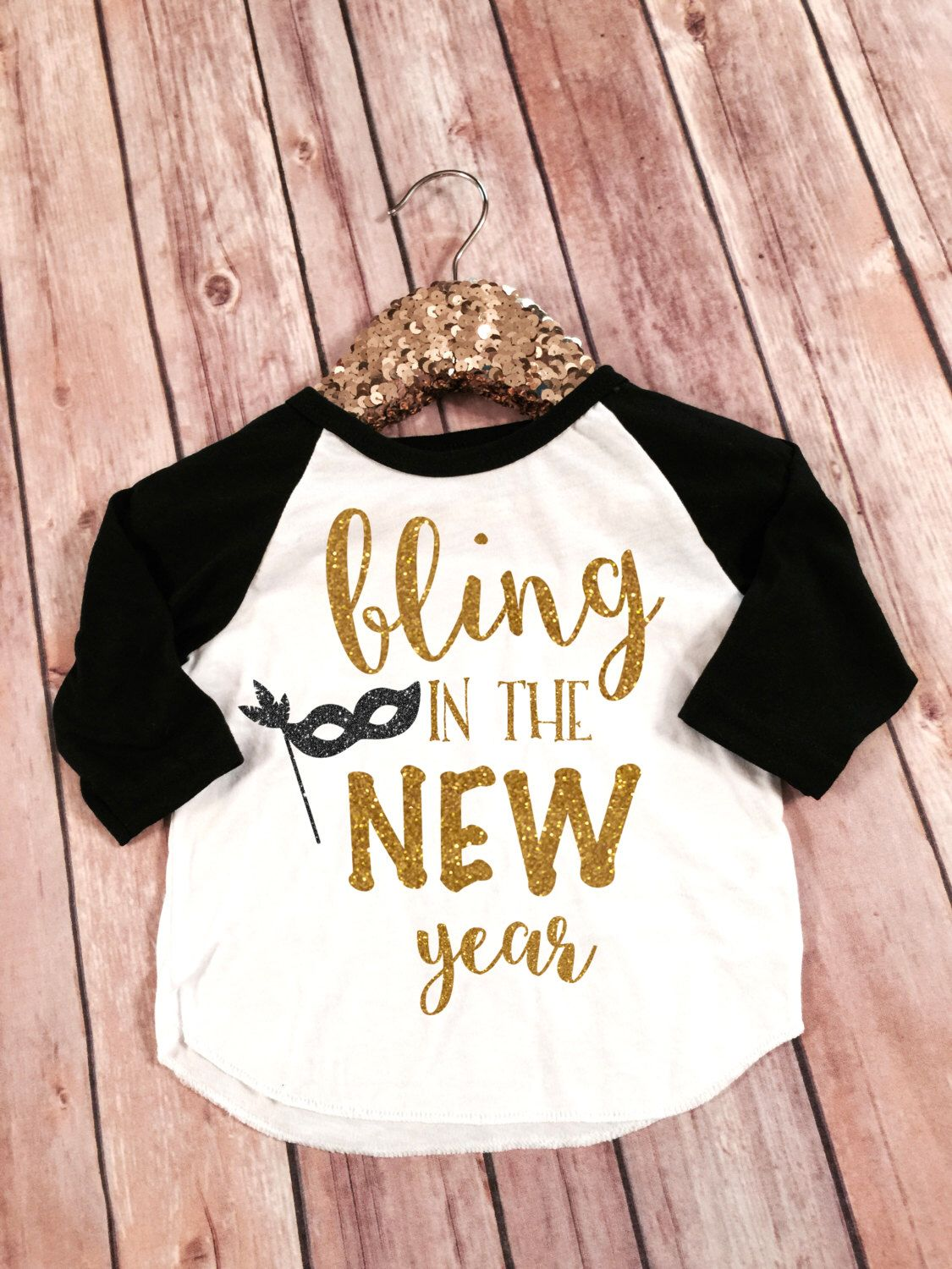 Bling in the New Year, New Years Shirt, 2020 New Year