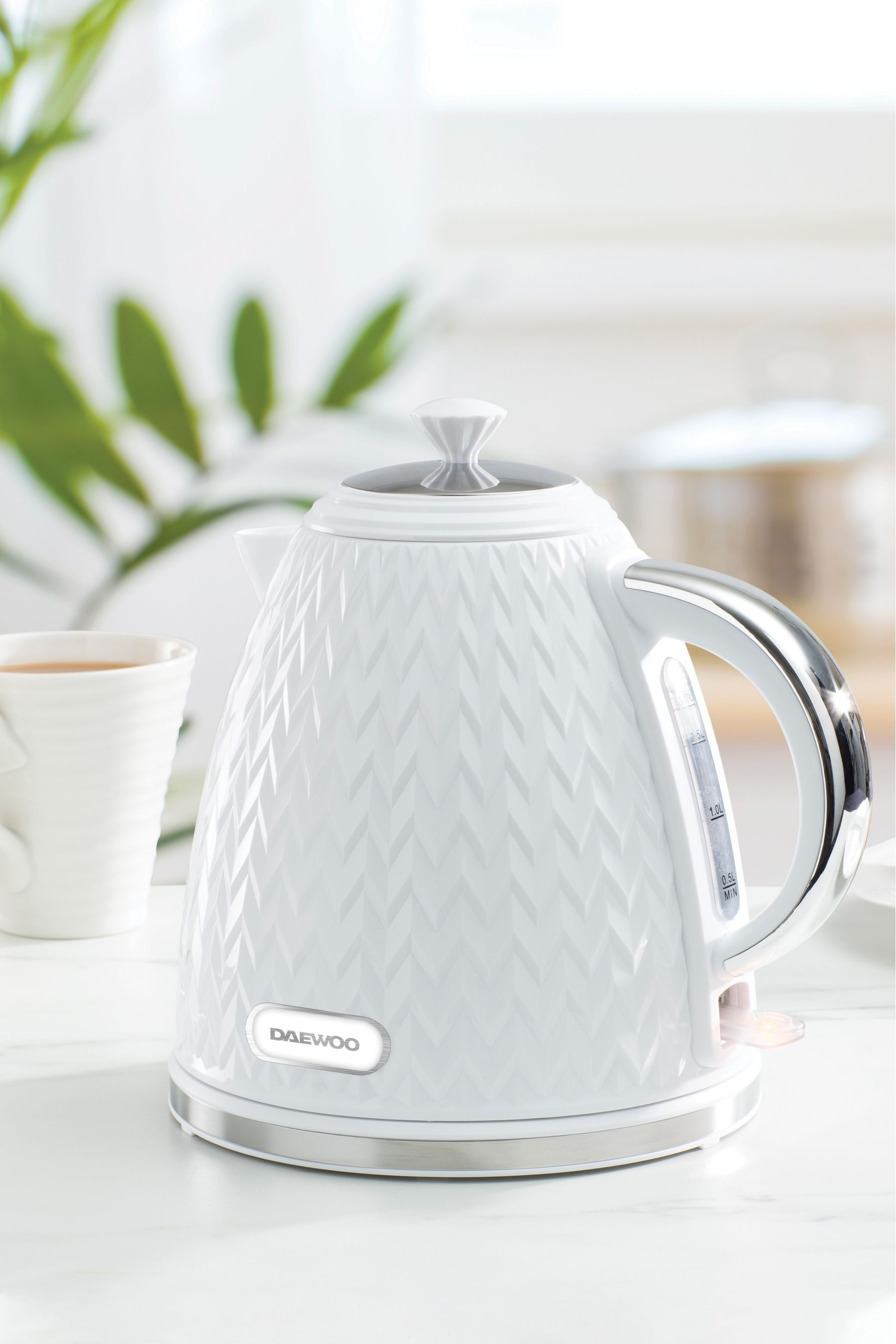 Buy Daewoo Argyle 1.7L Kettle from the