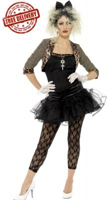 ... hit for Madonna  I m a Material Girl living in a Material World! Then  recreate that look with this brilliant 80 s Wild Child costume! Great costume  for ... 5b2197190687