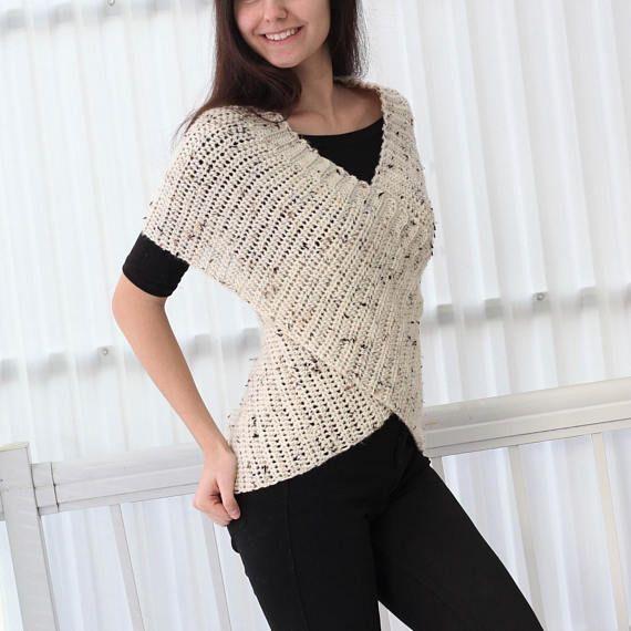 Easy Crochet pattern, Beginner crochet, Crochet wrap -LEYA Crochet ...