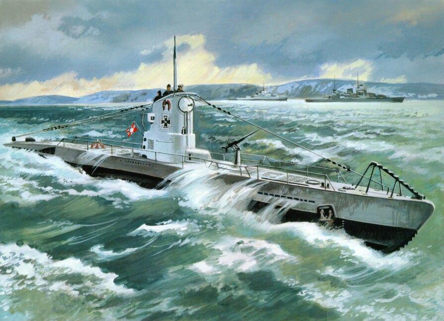 German U-boat.