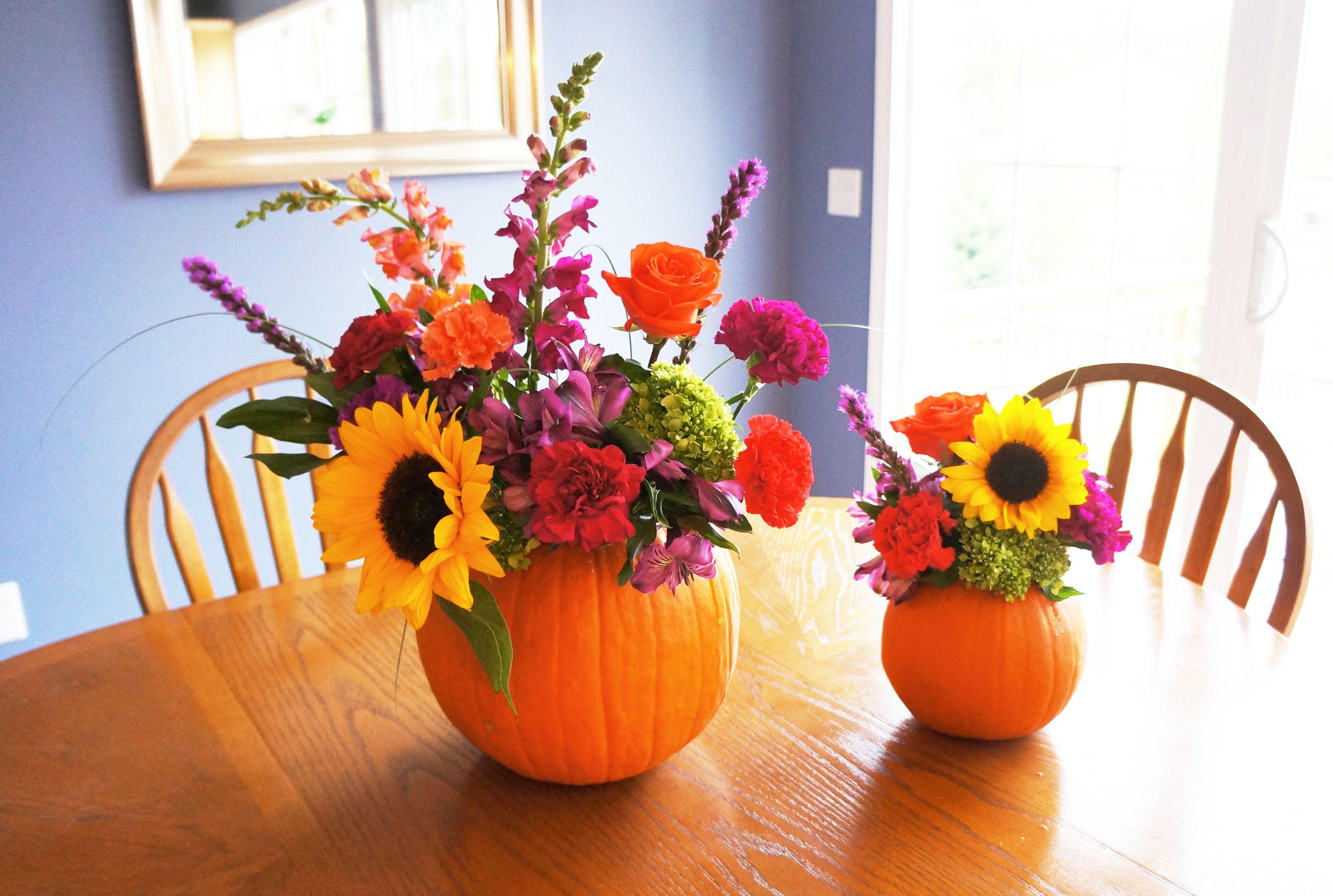 Diy pumpkin fall centerpieces for the babe pinterest