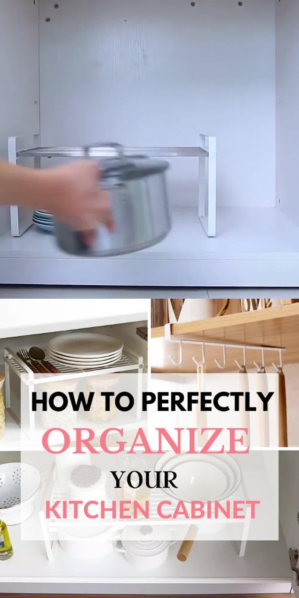 Small Kitchen Organization (The Definitive Guide)