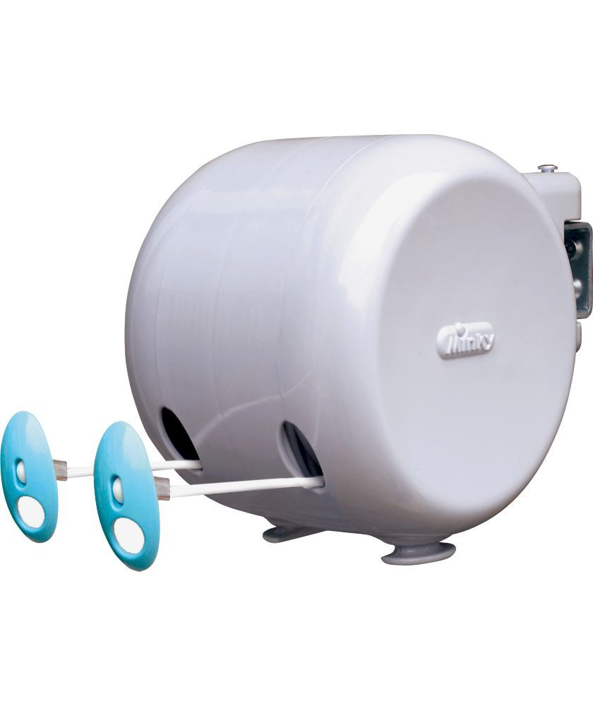 Minky 30m Retractable Reel Clothes Washing Line.