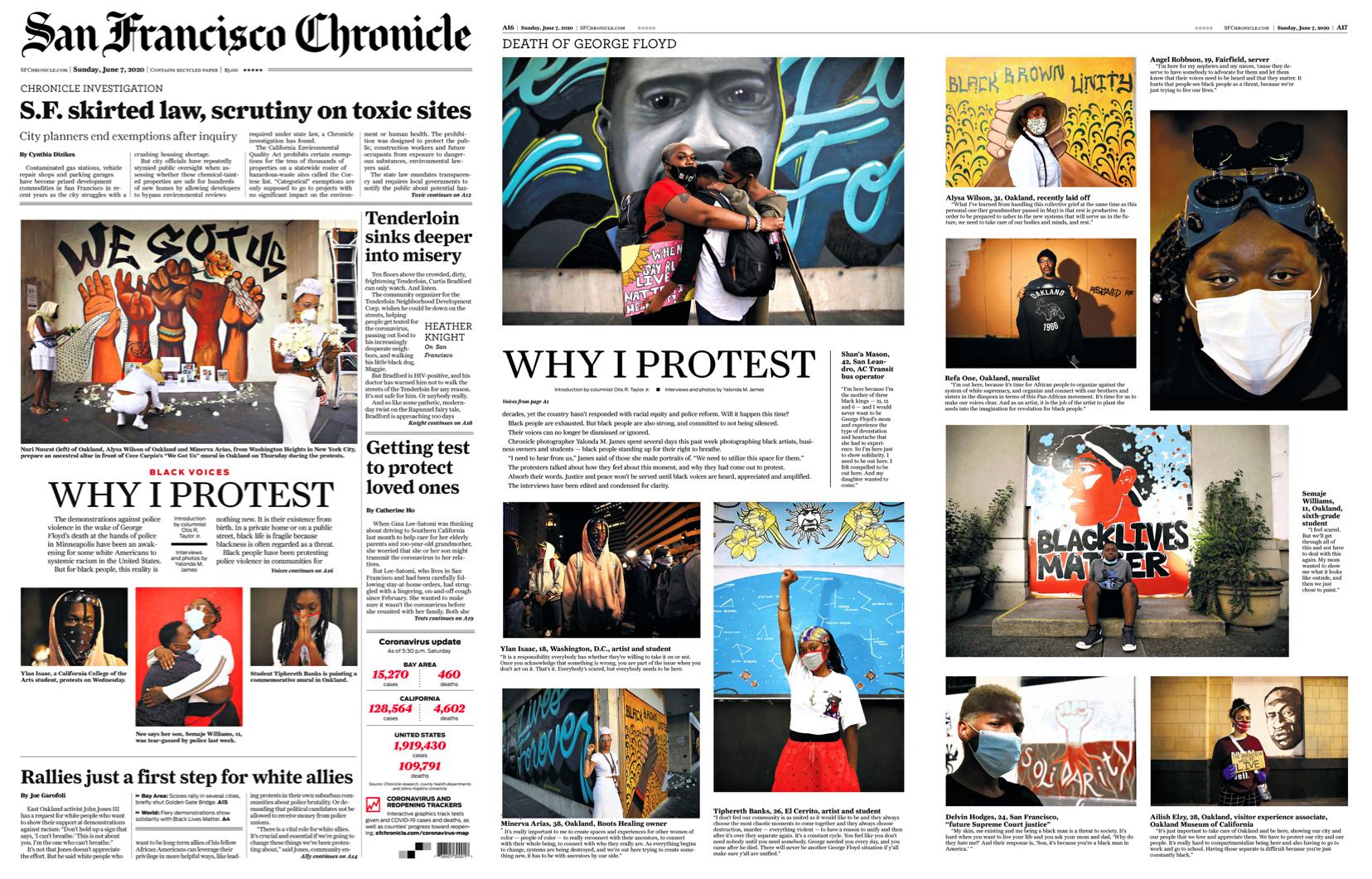 Sf Chronicle San Francisco Chronicle Editorial Design San