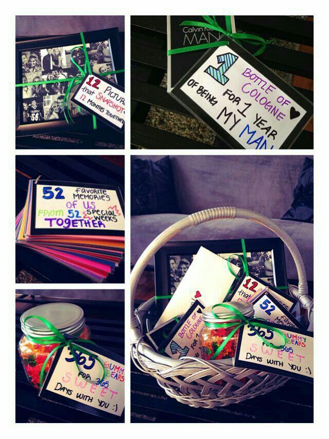 Boyfriend gift ideas image by Kaleigh Burke One year