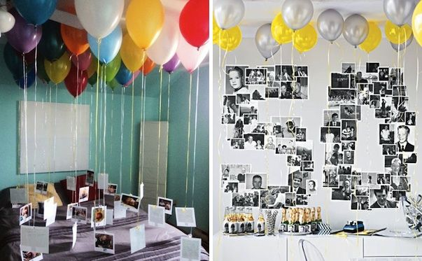 resultado de imagen de simple birthday party decoration ideas for adults