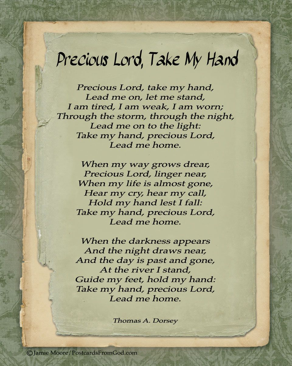 Night lights take my hand lyrics - Take My Hand Precious Lord Lead Me Home Www Facebook Com