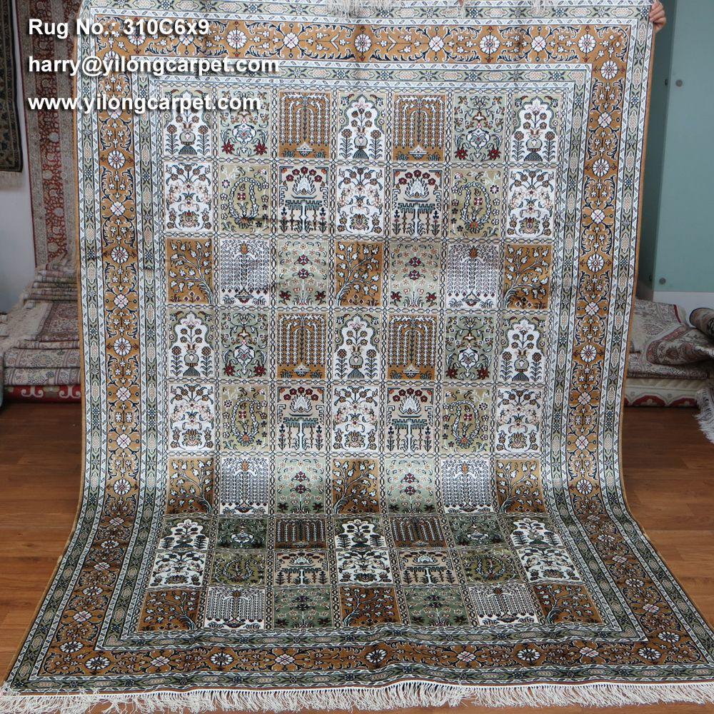 Rug No.: 310C-6x9 Price: USD 18 per square foot Size: