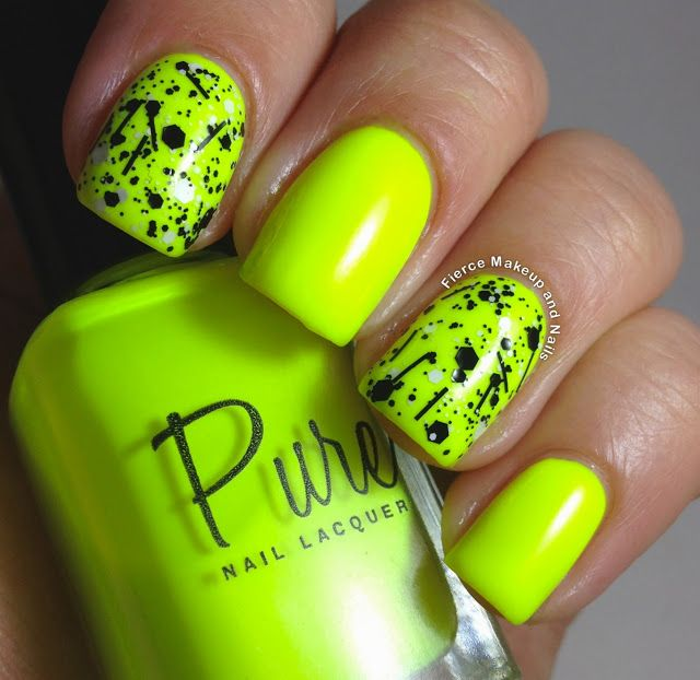 Fluorescente | | Maquillaje y uñas | | Pinterest | Cosas de chica ...