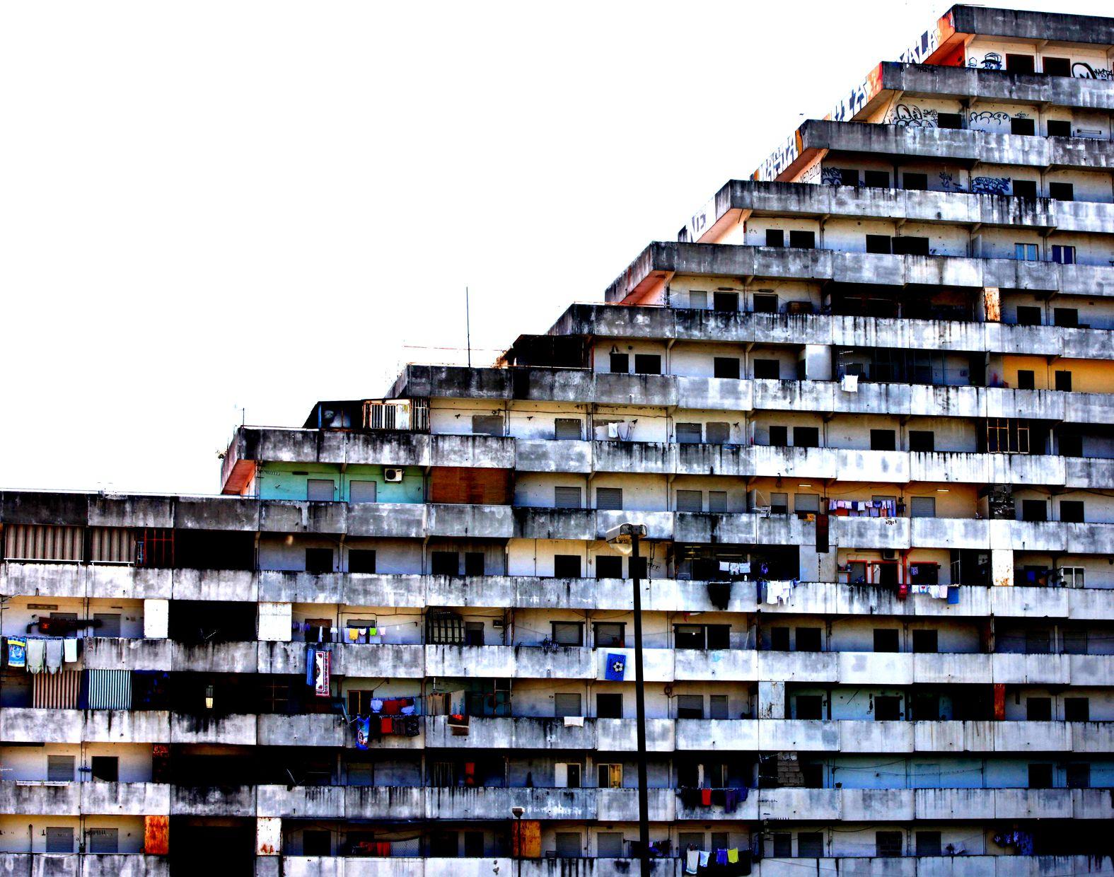 Vele di Scampia Napoli 1962 1975 Francesco di Salvo Show me Pinterest