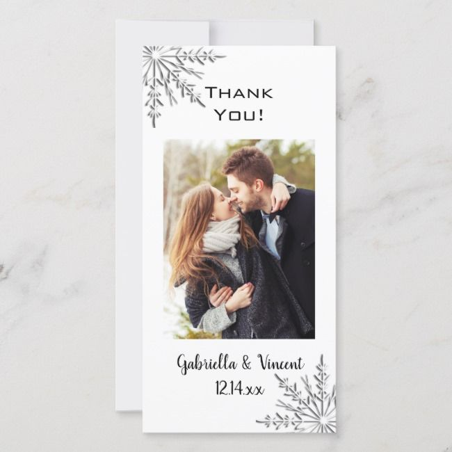 Photo of Create your own Flat Thank You Card | Zazzle.com