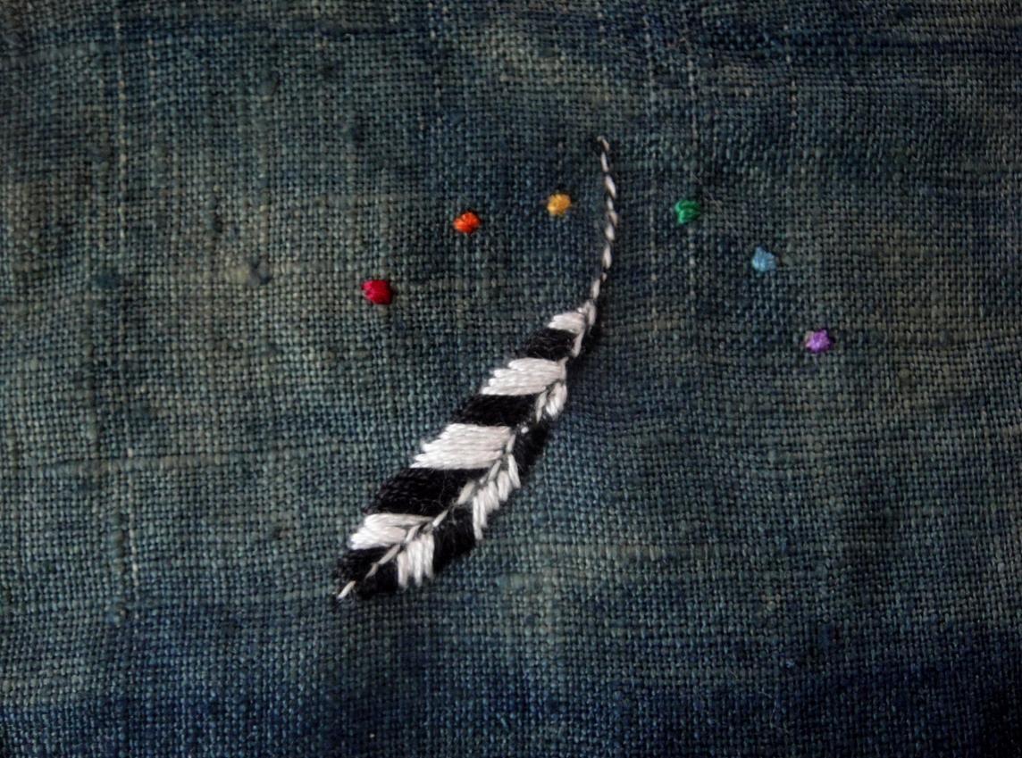 Jill Hill's magical feather