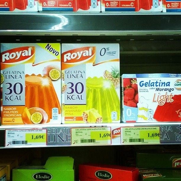 """""""Gelatina sin azúcar Royal: es la que lleva la banda"""