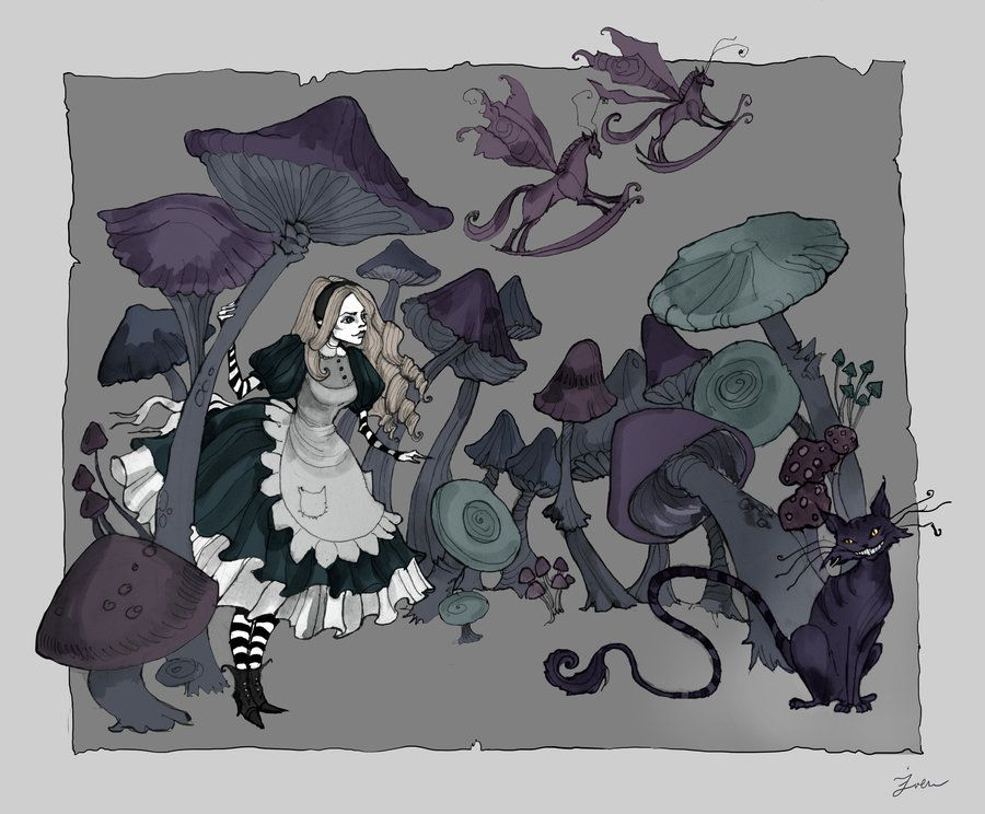 Pin by Deborah Dowdy on All about Alice And Her Wonderland ...