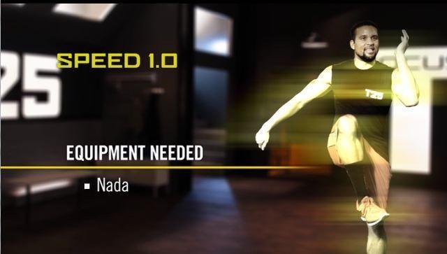 T25 Speed 1 0 Workout Exercise List June 2019 | Gamer  Freelance