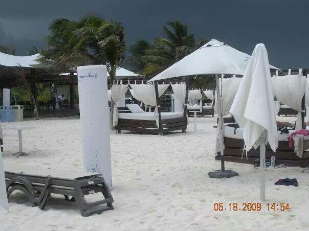 Playa Mamitas, Playa del Carmen