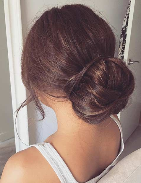 31 Most Beautiful Updos For Prom Stayglam Prom Updos Elegant Bun Prom Hair Updo