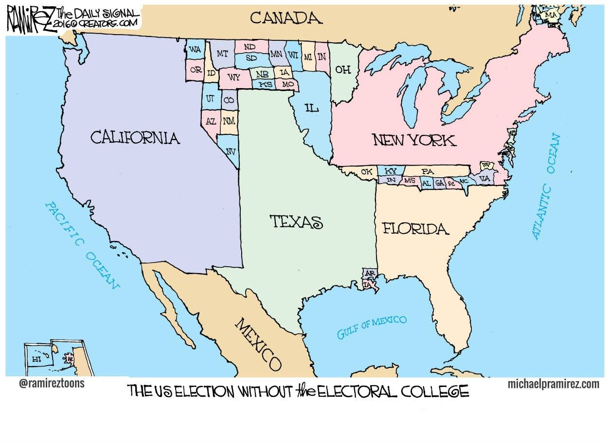 The US Election Without the Electoral College | I Believe | Us ...