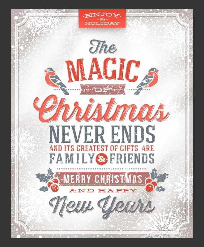 The magic of Christmas never ends and its greatest of ...