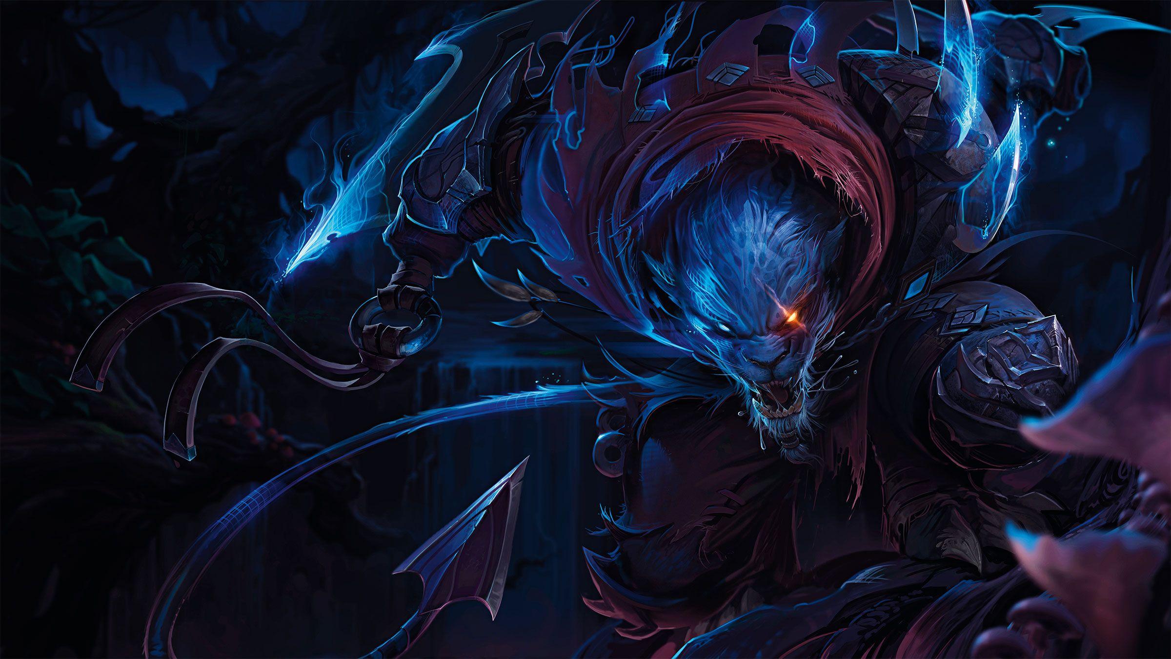 Rengar Cacador Noturno League Of Legends Em 2019 League Of