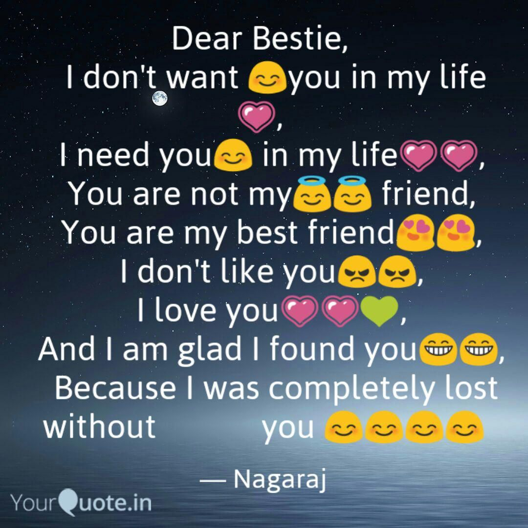 Top 10 I Need You In My Life Quotes  My life quotes, Life quotes