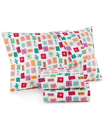 Whim By Martha Stewart Collection Holiday Flannel Sheet Sets Only At Macy S Sheets Bed Bath Macy S Holiday Flannel Sheet Sets Queen Cotton Flannel